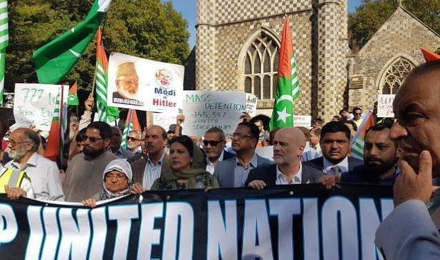 UK, European MPs join chorus against Kashmir lockdown