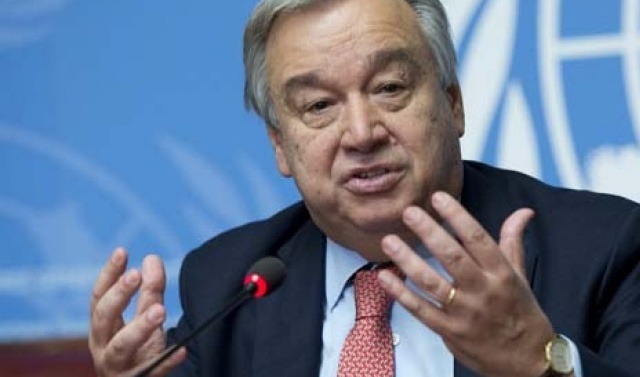 UN CHIEF MAY DISCUSS KASHMIR ISSUE AT UNGA: SPOKESMAN