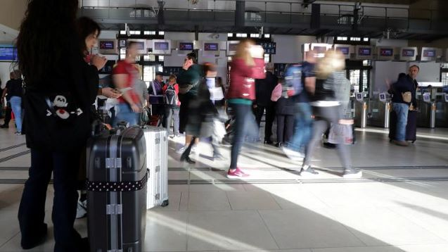 Chaos on French rail as workers strike over security risks after train accident