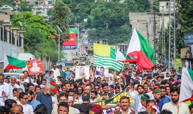Kashmir: AJK premier urges JKLF protesters to call off march to LoC as 'purpose greatly met'