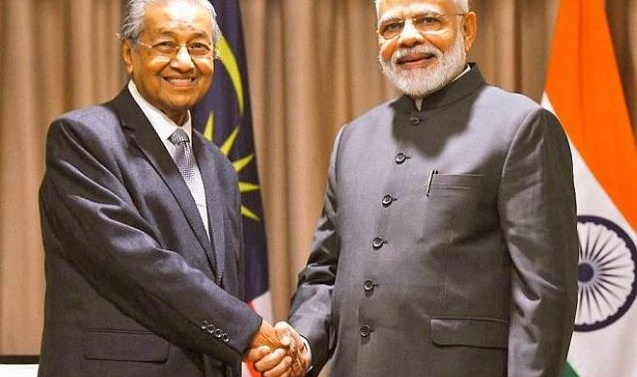 Malaysian PM Mahathir Mohamad defends Kashmir remarks that angered India