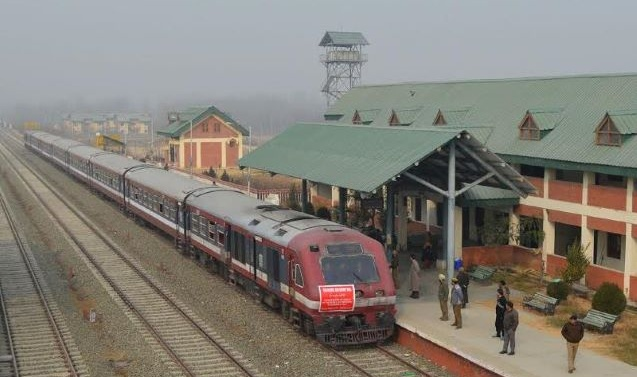 'Train Service In Kashmir To Resume From Nov 11'