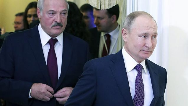 Moscow pressuring us to merge with Russia, claims Belarus president