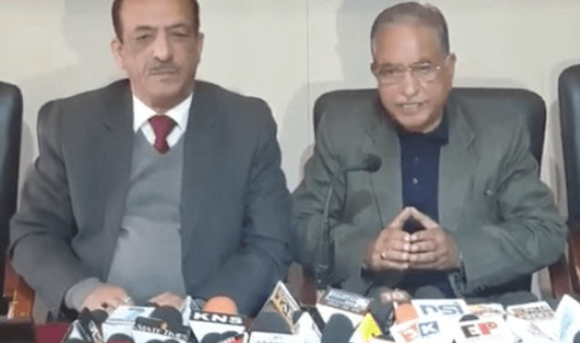 NO `THIRD FRONT' IN J&K, RELEASE ALL POLITICAL LEADERS: G H MIR