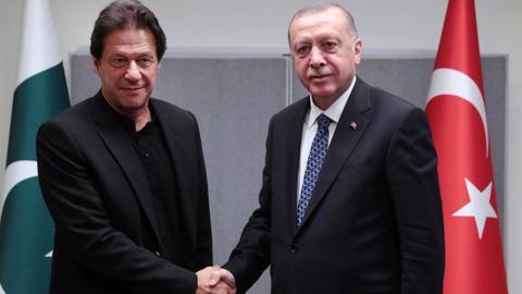 Erdogan Talks Kashmir in Pak Parliament, Compares Kashmiri 'Struggle' to Turkey's Plight in WW1