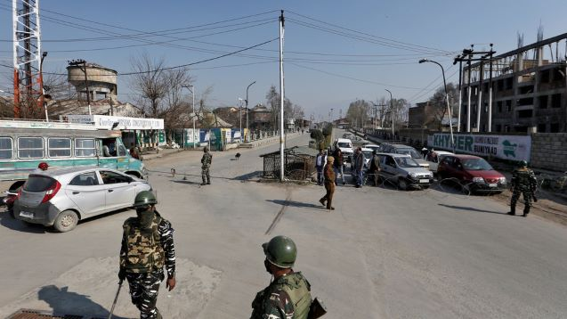 India locks down Kashmir as it reports 1st case of coronavirus, Sri Lanka postpones election