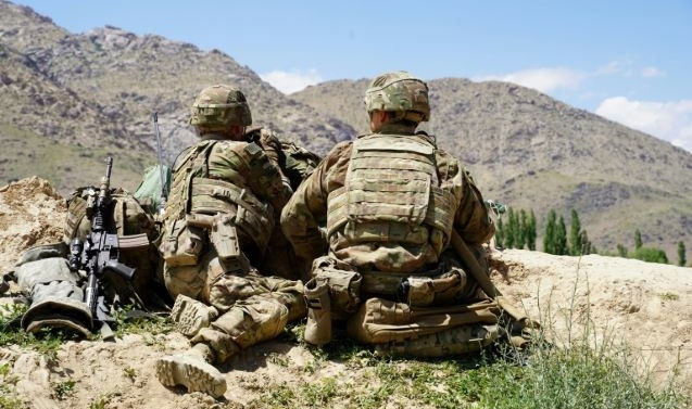 US on track to pull troops from Afghanistan despite turmoil