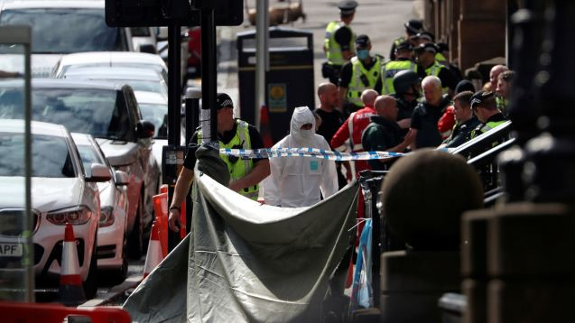 Glasgow stabbing suspect was Sudanese asylum seeker 'fed up' with 'hellish' shelter conditions, reports claim
