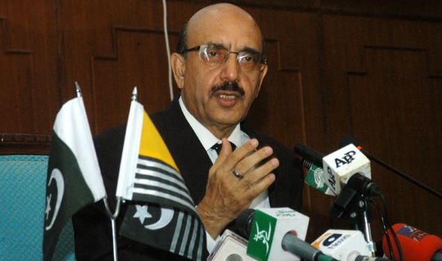 AJK president thanks UK, EU MPs for supporting Kashmir cause