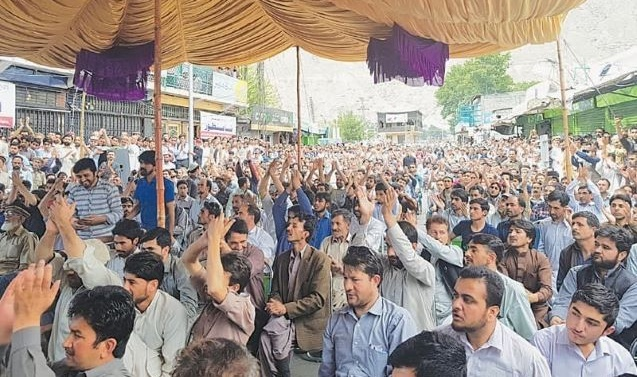Kashmir: Protesters demand reopening of GB to tourists