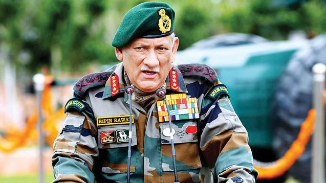 Military options open if talks with China fail: Indian defence chief