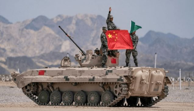 Kashmir: China Lines Up Tanks, Combat Vehicles Facing Ladakh