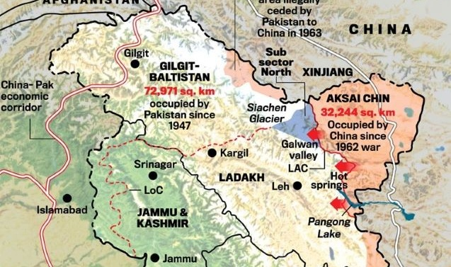 Kashmir: India's MEA says; 'Never Accepted China's 1959 LAC Definition'