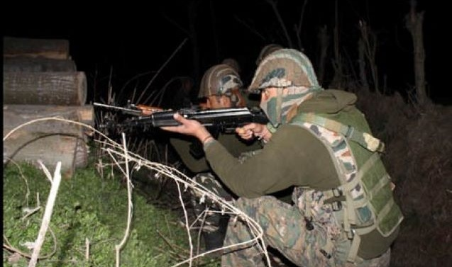 Gunfight breaks out in Manchowa in central Kashmir's Budgam