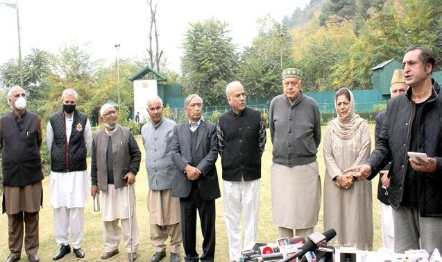 Kashmir: PAGD rejects govt statement on J&K land laws as  'Bundle of lies'