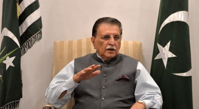 AJK PM vows to launch 'Save Kashmir' campaign amid 'attempts to divide state of J&K'