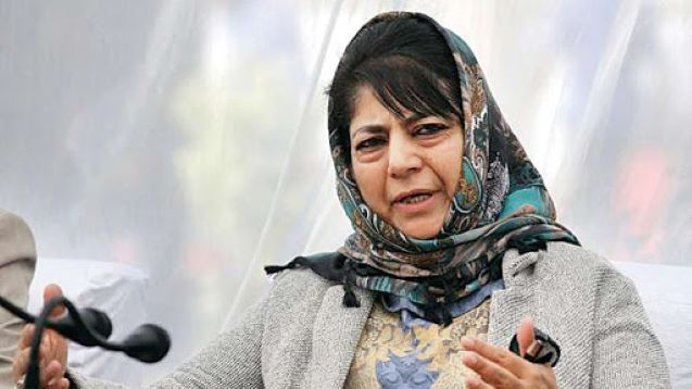 Kashmir: Mehbooba writes to LG, seeks his intervention in returning bodies of Lawaypora gunfight slain to families