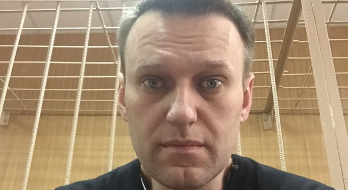 Alexei Navalny urges supporters to take to the streets and protest