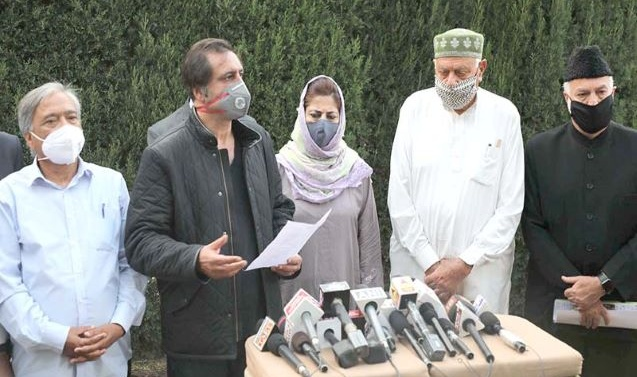 Kashmir: Sajad Lone's PC leaves PAGD