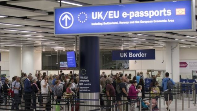 Spain in post-Brexit red tape row after UK residents prevented from flying home