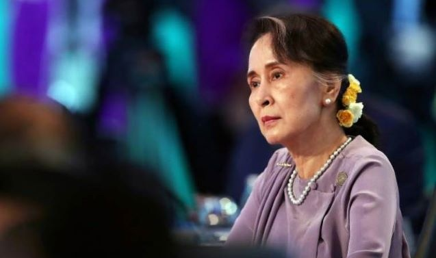 Aung San Suu Kyi appears in Myanmar court on video