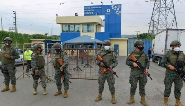 Ecuador jail riots leave over 50 inmates dead