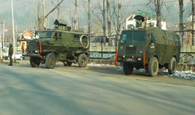 Partial shutdown in Kashmir