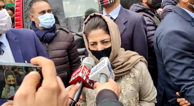 Dialogue with Pakistan important to end bloodshed in Kashmir: Mehbooba