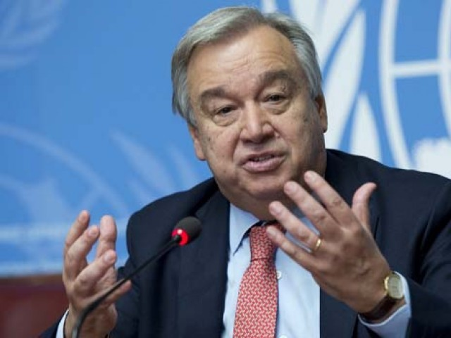 UN chief encouraged by India, Pakistan ceasefire announcement; hopes this will provide opportunity for further dialogue
