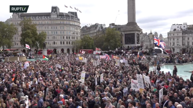 Kill the bill: Protesters clash with cops in UK, in demonstration against 'draconian' policing legislation