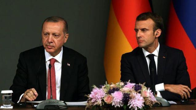 Turkey, France can contribute to stability in world, Erdoğan tells Macron