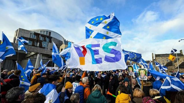 Majority of Scots prefer to remain part of UK