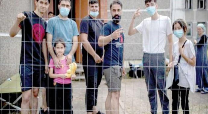 EU pushes Iraq to stem migrant flights to Belarus