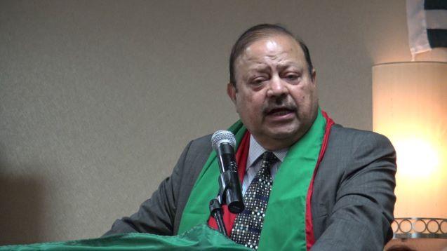 Barrister Sultan Mehmood sworn in as AJK new president