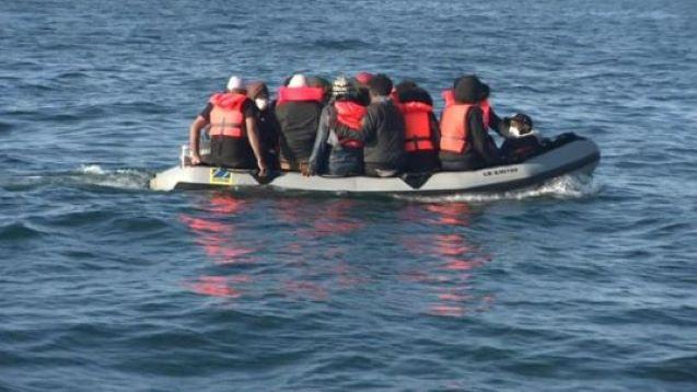 Migrants continue to cross Channel ahead of Priti Patel talks