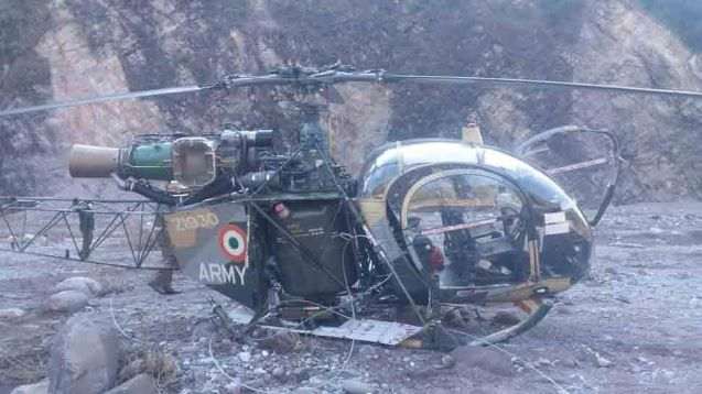 Kashmir: 2 Army pilots die in helicopter crash at Patnitop