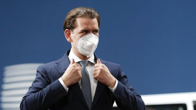 'Austria won't accept any fleeing Afghan refugees as long as I'm in power,' chancellor Kurz vows