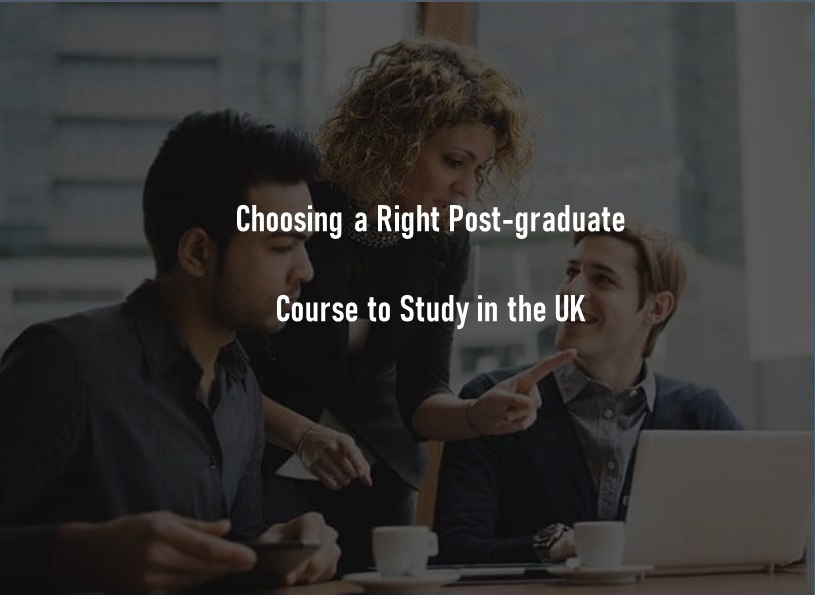 Choose a right course to study in UK