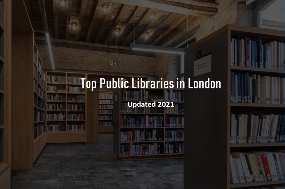Public libraries in London UK