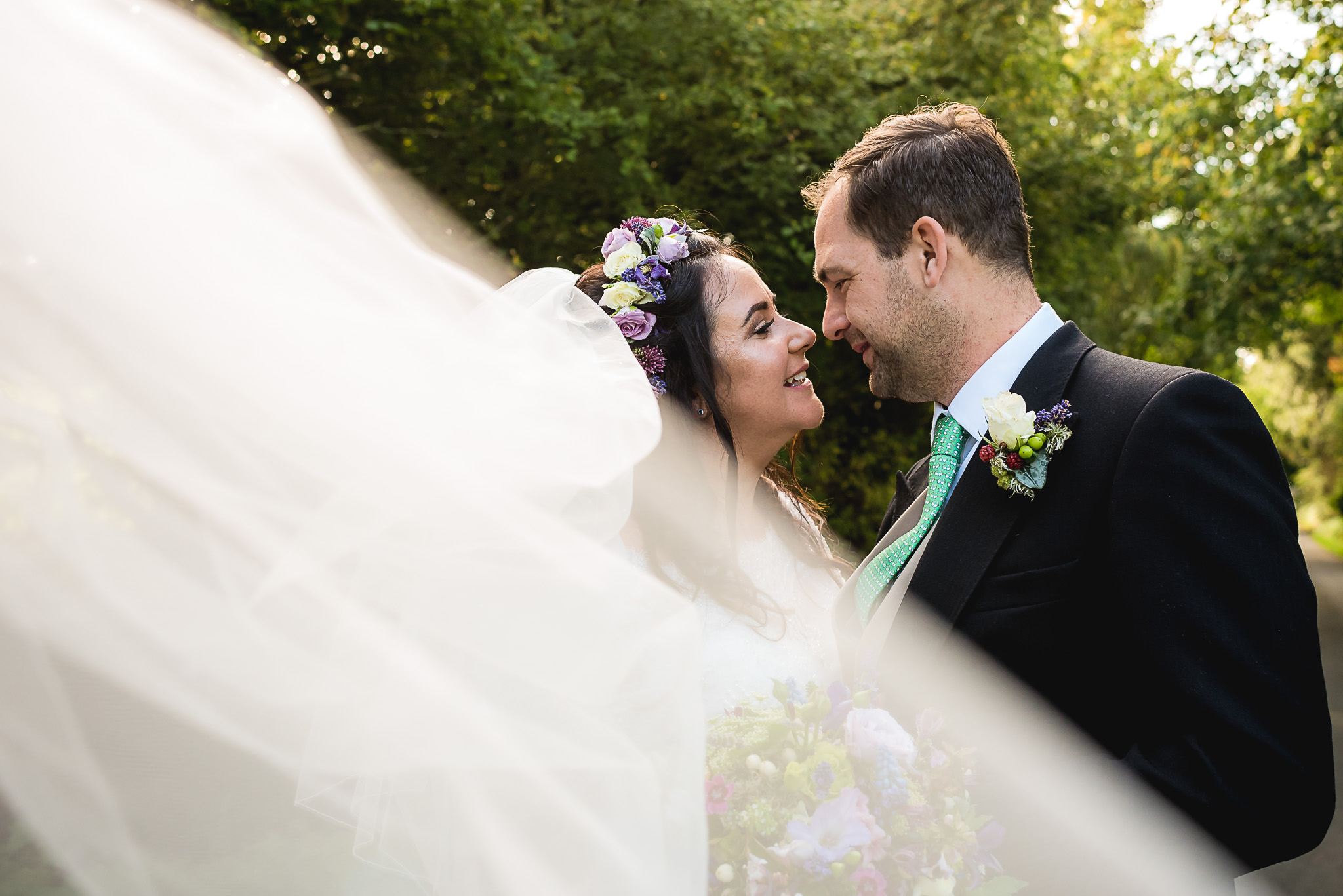 Rosie & Kristian's Barnwell wedding
