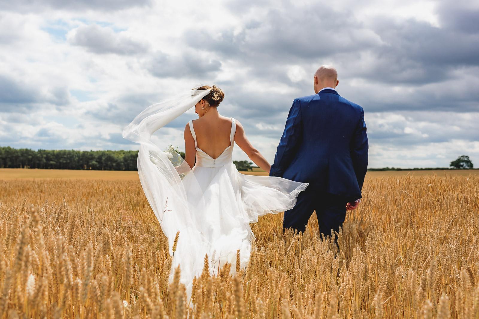 Sussex Barn Norfolk wedding – Kate & Dom