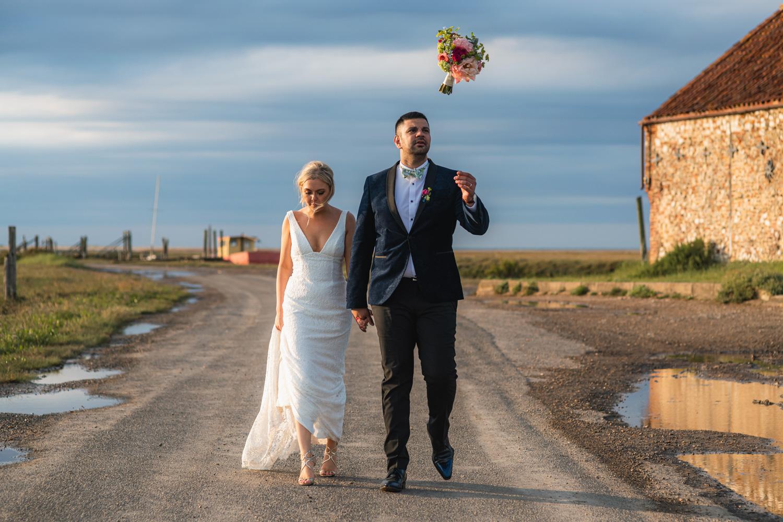Titchwell Manor wedding photographer – Fliss & Aaron