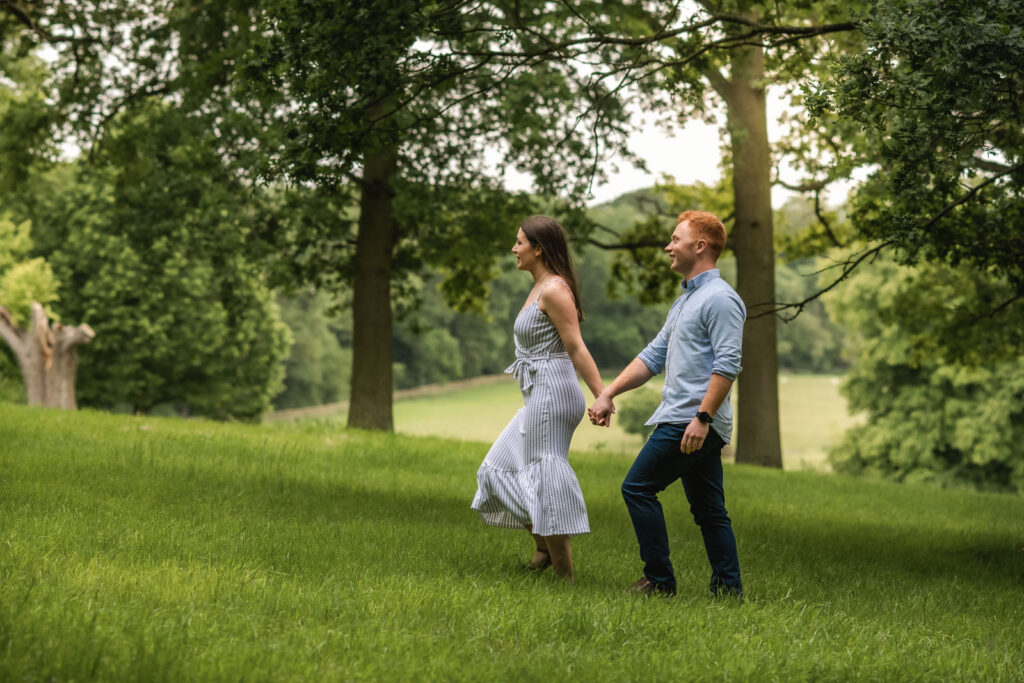 Burghley House pre-wedding shoot
