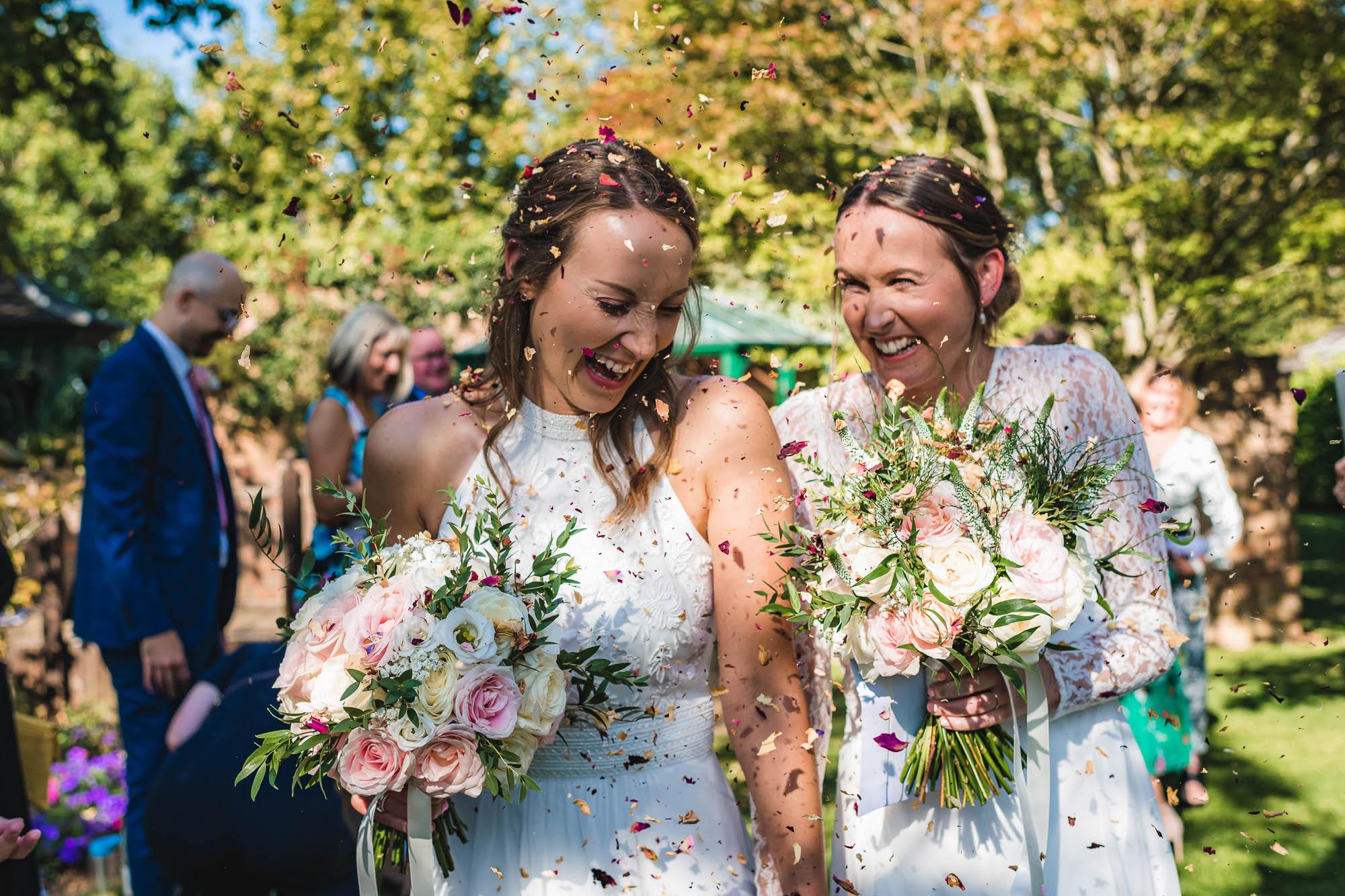 Barnsdale Gardens wedding – Katie & Laura