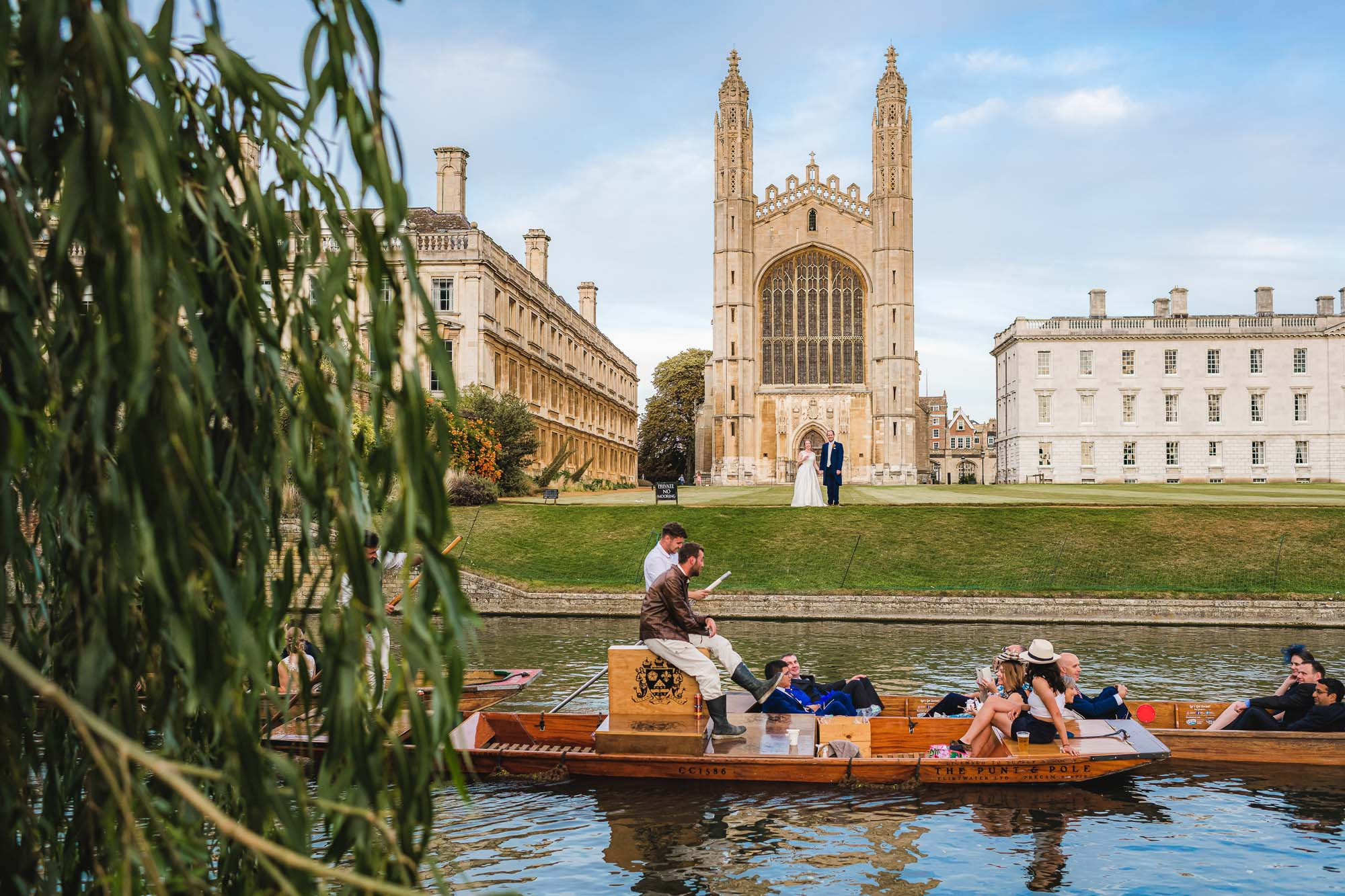 King's College Cambridge wedding – Becky & Toby