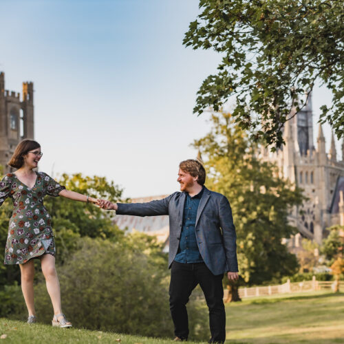 Ely pre-wedding shoot