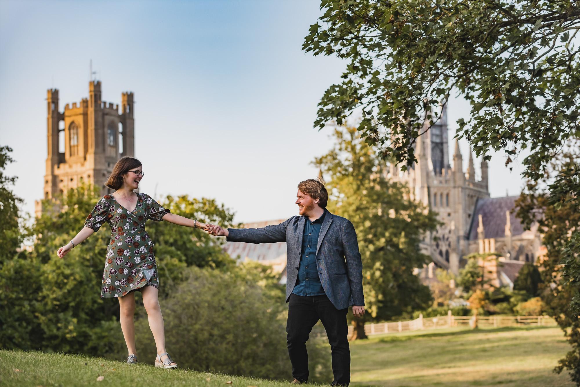 Ely pre-wedding shoot – Charlotte & Alex