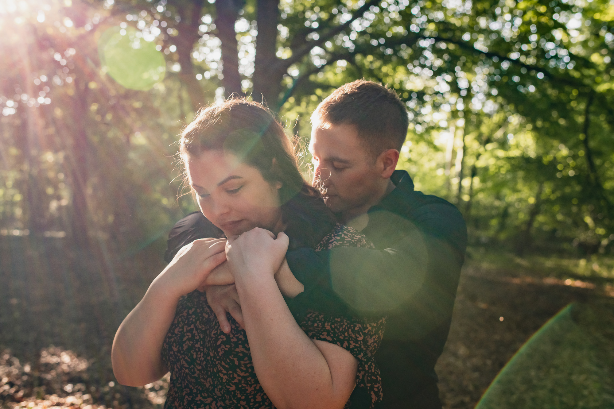 Wellington Wood pre-wedding shoot – Jess & Callum