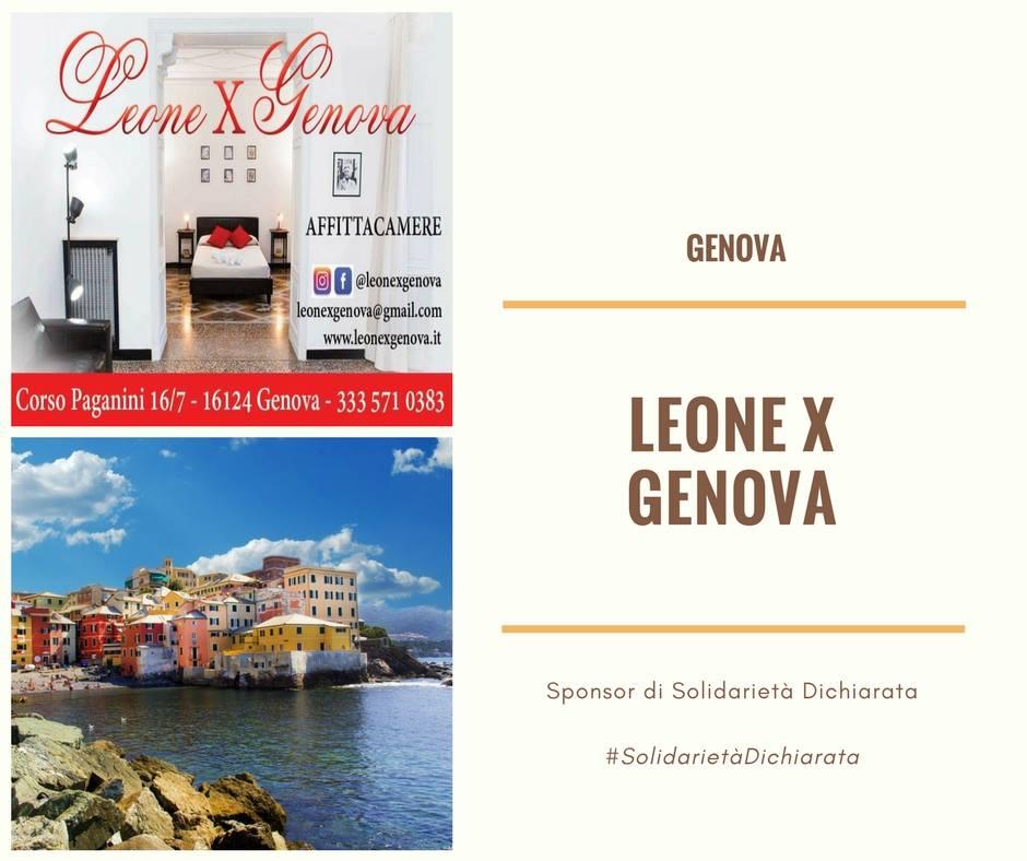 Leone X Genova per Solidarietà Dichiarata