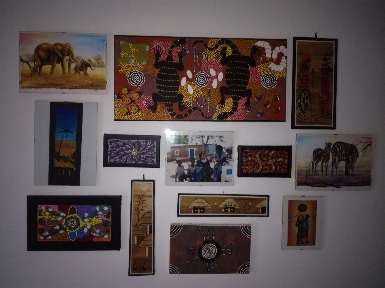 Comprare un dipinto/disegno/quadretto ogni volta che vado oltreoceano